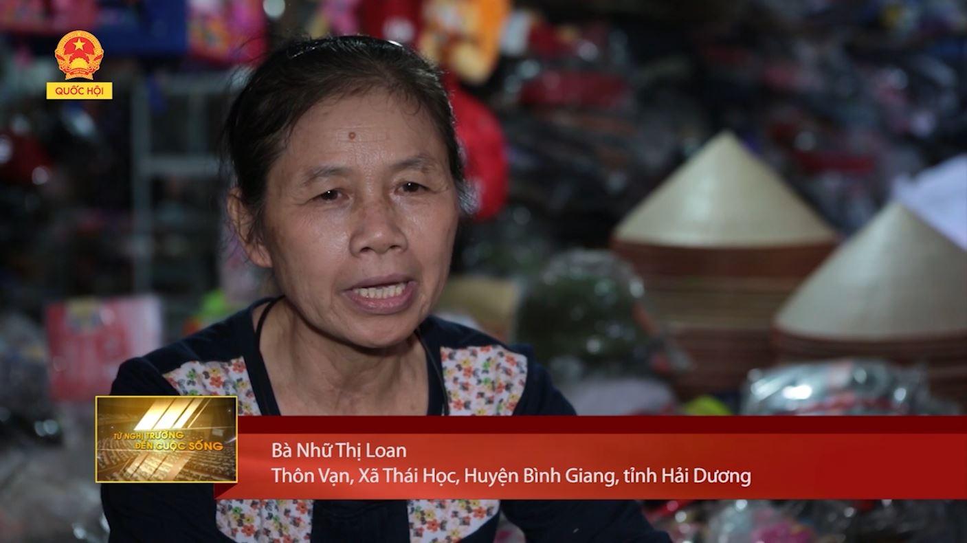 Bà Nhữ Thị Loan
